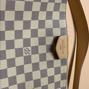 Graceful MM Damier Azur Canvas